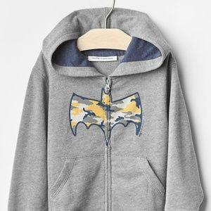 NWT Baby Gap Batman Junk Food hoodie sweatshirt